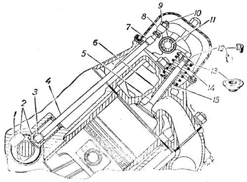Механизм привода клапанов