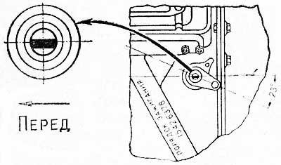 Установка привода датчика-распределителя